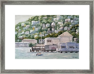Scoma's Sausalito Framed Print by John West
