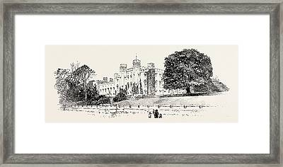Scone Palace, Perth, Uk. Scone Palace Is A Category Framed Print