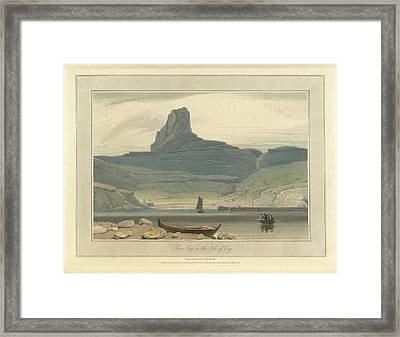 Scoor Eig On The Isle Of Eig Framed Print by British Library