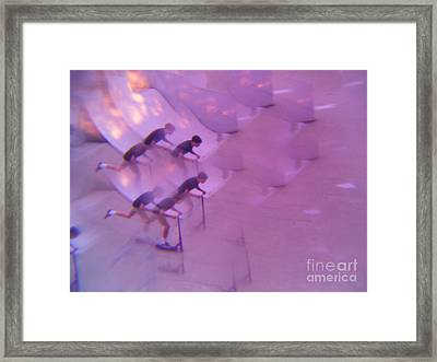 Scooters Gone Wild Series 2 Framed Print by Paddy Shaffer