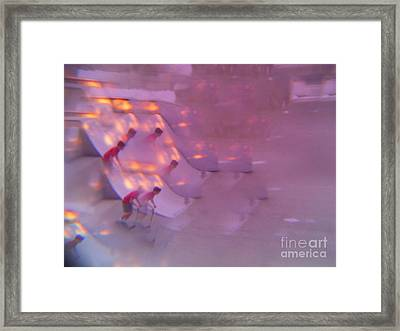Scooters Gone Wild Series 3 Framed Print by Paddy Shaffer