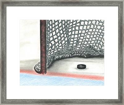 Score Framed Print by Troy Levesque