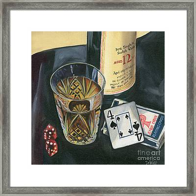 Scotch And Cigars 2 Framed Print by Debbie DeWitt