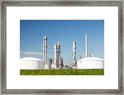 Scotford Upgrader Plant Framed Print by Ashley Cooper