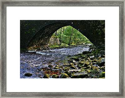 Scotland Bridge Framed Print