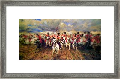 Scotland Forever During The Napoleonic Wars Framed Print