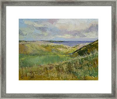 Scotland Landscape Framed Print by Michael Creese