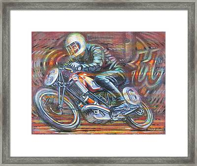 Scott 2 Framed Print by Mark Jones