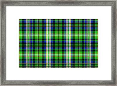 Scott Tartan Variant Framed Print by Gregory Scott