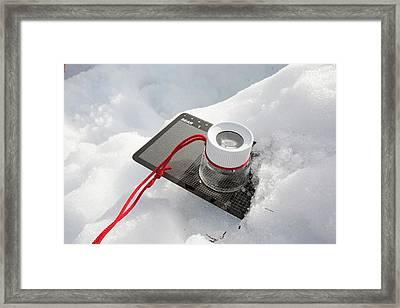 Scottish Avalanche Information Service Framed Print