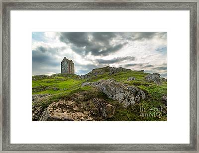 Scottish Borders - Smailholm Tower Framed Print by Matt  Trimble