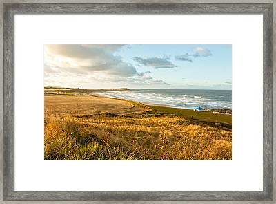 Scottish Coast Framed Print by Tom Gowanlock