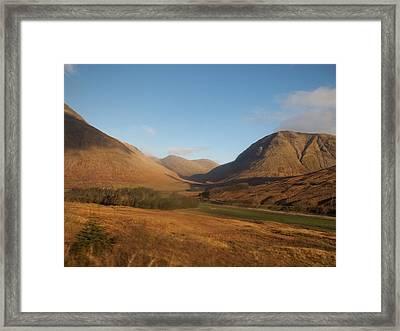 Scottish Highlands Framed Print