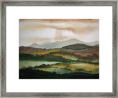 Scottish Hills Framed Print