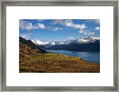 Scottish Light Framed Print by Jacqi Elmslie