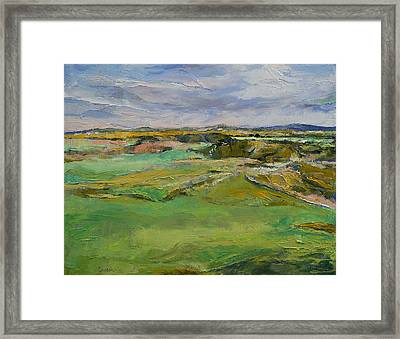Scottish Lowlands Framed Print by Michael Creese