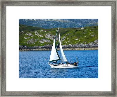 Scottish Sails Framed Print