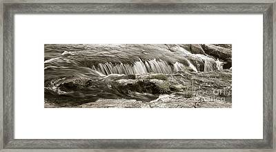 Framed Print featuring the photograph Scottish Water by Juergen Klust