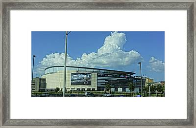 Scottrade Center Home Of The St Louis Blues Framed Print by Greg Kluempers
