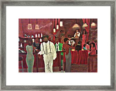 Scott's Bar Framed Print