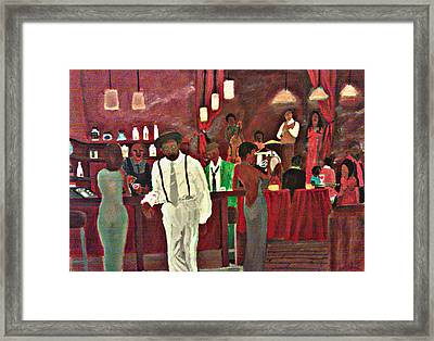 Scott's Bar Framed Print by George Harrison