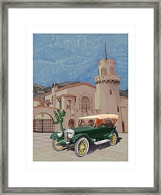 Scottys Castle 1917 Premier Tourer Framed Print by Jack Pumphrey