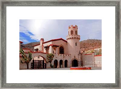 Scotty's Castle Framed Print by Kathleen Struckle