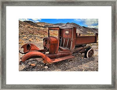 Scotty's Truck Framed Print by Adam Jewell