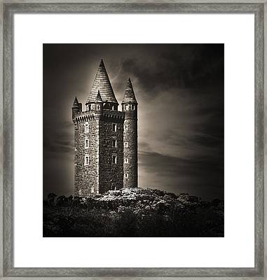 Scrabo Tower Newtownards County Down Framed Print by Jane McIlroy