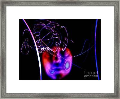 Scramblation Framed Print by Xn Tyler