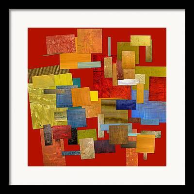 Color Compilation Framed Prints