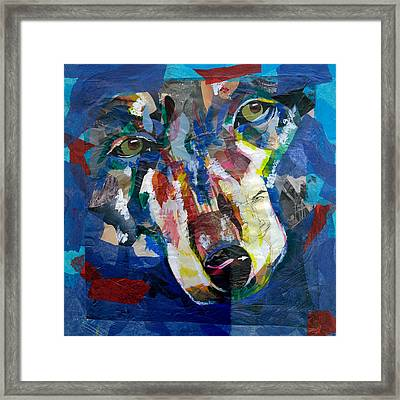 Scraps Of Survival Framed Print by Lovejoy Creations