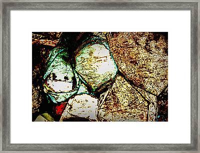 Scratch Framed Print by Leanna Lomanski