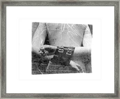 Scratch Framed Print by Mojo THF