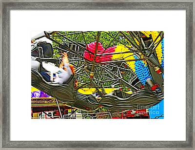 Scream If You Want To Go Faster Framed Print by Terri Waters