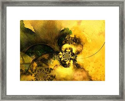 Scream Of Nature Framed Print by Miki De Goodaboom