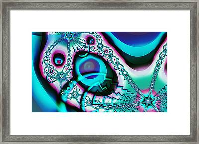 Screaming Ghost Framed Print