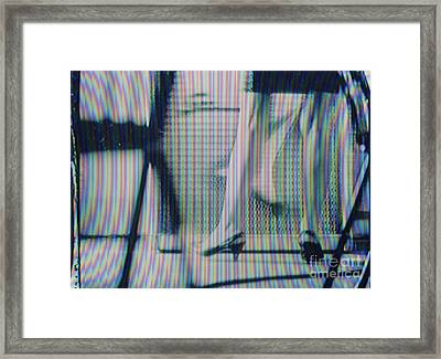 Screen #528 Framed Print