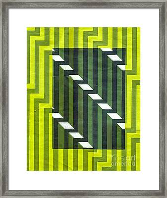 Screen Print Framed Print by Dave Atkins