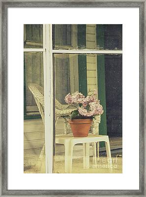 Screened Porch Framed Print by Margie Hurwich