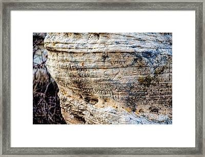 Scribbles Framed Print by Jon Burch Photography