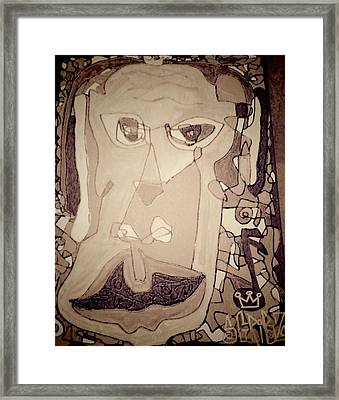 Scribzicasso Framed Print by Rick Burgunder