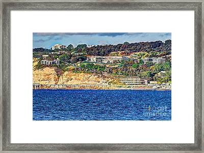 Scripps Institute Of Oceanography Framed Print