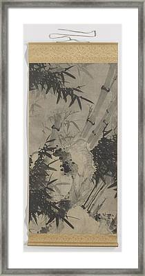 Scroll Painting, Zhengxing Nickname Wuzhai Framed Print by Litz Collection
