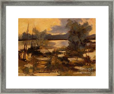 Scrub Beach At Missisinewa Framed Print by Charlie Spear