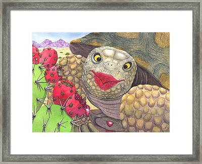 Scrumptious Framed Print by Catherine G McElroy