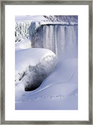 Sculpted By Nature Framed Print