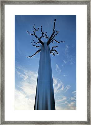 Sculpture By Visual The Centre Framed Print