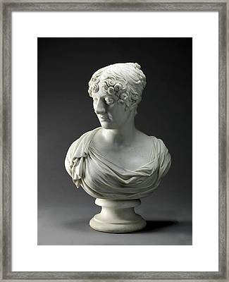 Sculpture, Charlotte Framed Print by Litz Collection