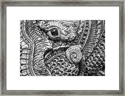 Sculpture Framed Print by Thatchakon Hin-ngoen